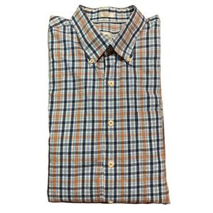 Peter Millar Long Sleeve Shirt Plaid Check XL